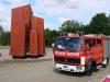 Tatkräftige Unterstützung der lokalen Feuerwehr am 06.07.
