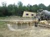Deutlich über 20 Kubikmeter Beton werden verfüllt.