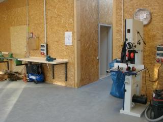 Einrichtung für Nutzung als Jugendwerkstatt (2)