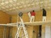Auch beim Innenausbau geht\'s mit großen Schritten voran.